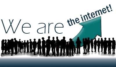 We are the internet - Wir sind im Internet mit netzSEO